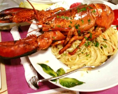 Nostos Restaurant Lobster