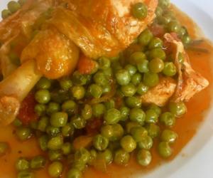 Nostos Restaurant Chicken with beans