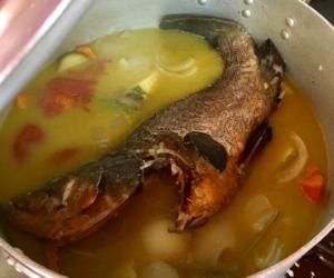 Nostos Restaurant Fish Soup