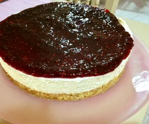 Nostos Restaurant Fresh Cheesecake