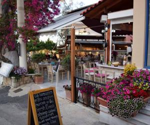 Nostos Restaurant side view