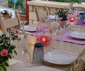 Nostos Restaurant table